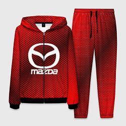Костюм мужской Mazda: Red Carbon цвета 3D-черный — фото 1