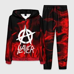 Костюм мужской Slayer Flame цвета 3D-красный — фото 1