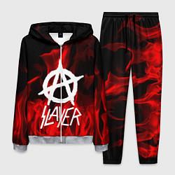 Костюм мужской Slayer Flame цвета 3D-меланж — фото 1