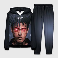 Костюм мужской XXXTentacion Demon цвета 3D-черный — фото 1