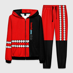 Костюм мужской Twenty One Pilots: Red Style цвета 3D-черный — фото 1