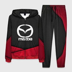 Костюм мужской Mazda: Grey Carbon цвета 3D-красный — фото 1