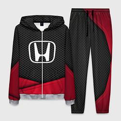 Костюм мужской Honda: Grey Carbon цвета 3D-меланж — фото 1