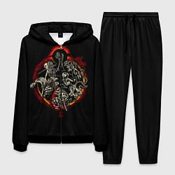 Костюм мужской Berserk Devils цвета 3D-черный — фото 1