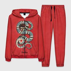 Костюм мужской Gucci Garden цвета 3D-красный — фото 1