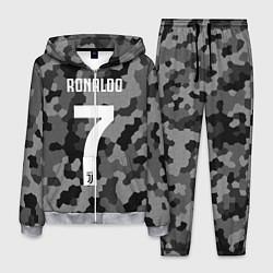 Костюм мужской Ronaldo 7: Camo Sport цвета 3D-меланж — фото 1