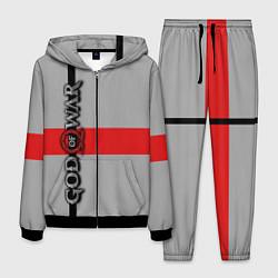 Костюм мужской God of War: Grey Style цвета 3D-черный — фото 1