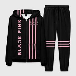Костюм мужской Black Pink цвета 3D-черный — фото 1