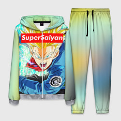 Костюм мужской DBZ: Super Saiyan цвета 3D-меланж — фото 1