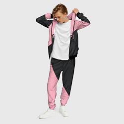 Костюм мужской Black Pink цвета 3D-черный — фото 2