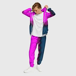 Костюм мужской BSG: Neon City цвета 3D-меланж — фото 2