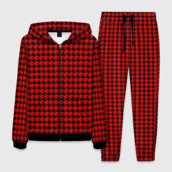 Костюм мужской Off-White: Red Fashion цвета 3D-черный — фото 1