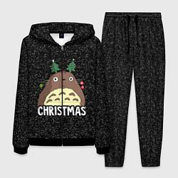 Костюм мужской Totoro Christmas цвета 3D-черный — фото 1