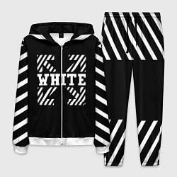 Костюм мужской Off-White: Black Style цвета 3D-белый — фото 1