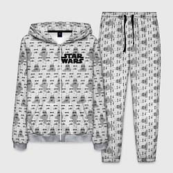 Костюм мужской Star Wars: Stormtroopers цвета 3D-меланж — фото 1