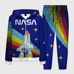 Костюм мужской NASA: Magic Space цвета 3D-белый — фото 1