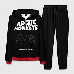 Костюм мужской Arctic Monkeys: Do i wanna know? цвета 3D-красный — фото 1