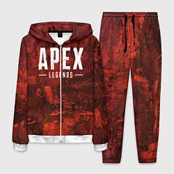 Костюм мужской Apex Legends: Boiling Blood цвета 3D-белый — фото 1