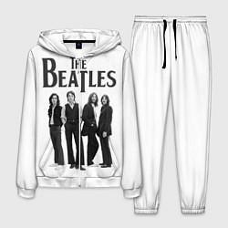 Костюм мужской The Beatles: White Side цвета 3D-белый — фото 1