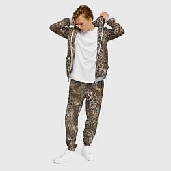 Костюм мужской Шкура леопарда цвета 3D-меланж — фото 2