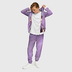 Костюм мужской Billie Eilish: Violet Fashion цвета 3D-белый — фото 2