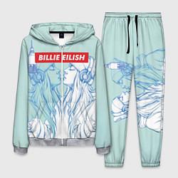 Костюм мужской Billie Eilish Music цвета 3D-меланж — фото 1