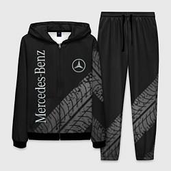 Костюм мужской Mercedes AMG: Street Style цвета 3D-черный — фото 1