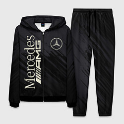 Костюм мужской Mercedes AMG: Black Edition цвета 3D-черный — фото 1