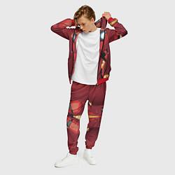 Костюм мужской Iron Man Costume цвета 3D-красный — фото 2