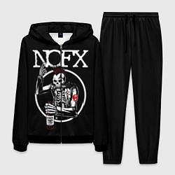 Костюм мужской NOFX цвета 3D-черный — фото 1