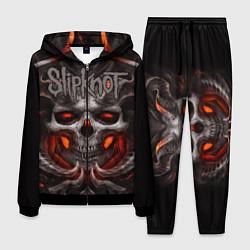 Костюм мужской Slipknot: Hell Skull цвета 3D-черный — фото 1