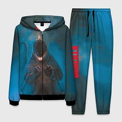 Костюм мужской Blue Godzilla цвета 3D-черный — фото 1