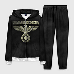 Костюм мужской Rammstein: Metal цвета 3D-белый — фото 1
