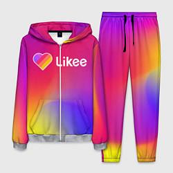 Костюм мужской Likee LIKE Video цвета 3D-меланж — фото 1