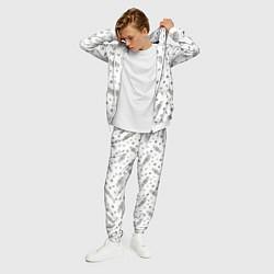 Костюм мужской Central Perk цвета 3D-белый — фото 2