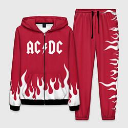 Костюм мужской AC DC цвета 3D-черный — фото 1