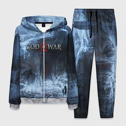 Костюм мужской GOD OF WAR цвета 3D-меланж — фото 1
