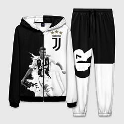Костюм мужской Cristiano Ronaldo цвета 3D-черный — фото 1