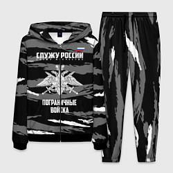 Костюм мужской Пограничные Войска цвета 3D-черный — фото 1