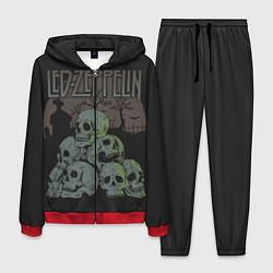 Костюм мужской Led Zeppelin цвета 3D-красный — фото 1