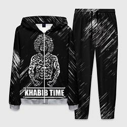 Костюм мужской KHABIB цвета 3D-меланж — фото 1