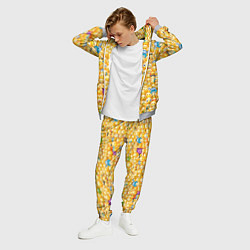 Костюм мужской Смайлики Emoji цвета 3D-меланж — фото 2