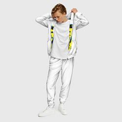 Костюм мужской Че Гевара цвета 3D-белый — фото 2