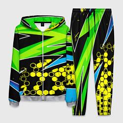 Костюм мужской Bona Fide Одежда для фитнеcа цвета 3D-меланж — фото 1