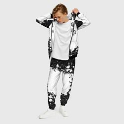 Костюм мужской Кукрыниксы Лого цвета 3D-черный — фото 2