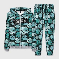 Костюм мужской The Punisher цвета 3D-меланж — фото 1
