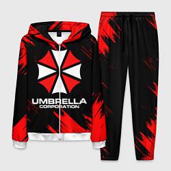 Костюм мужской Umbrella Corporation цвета 3D-белый — фото 1