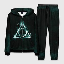Костюм мужской Гарри Поттер цвета 3D-черный — фото 1