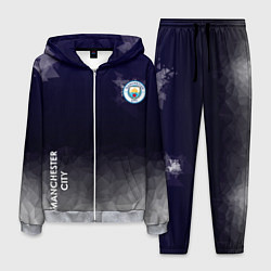 Костюм мужской Manchester City цвета 3D-меланж — фото 1