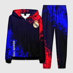 Костюм мужской Real Madrid цвета 3D-черный — фото 1